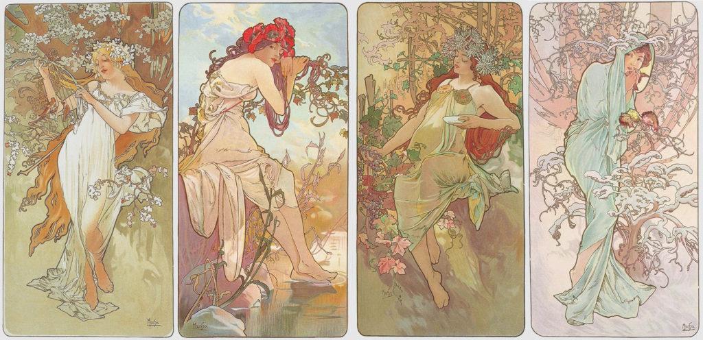 Las estaciones (1896)