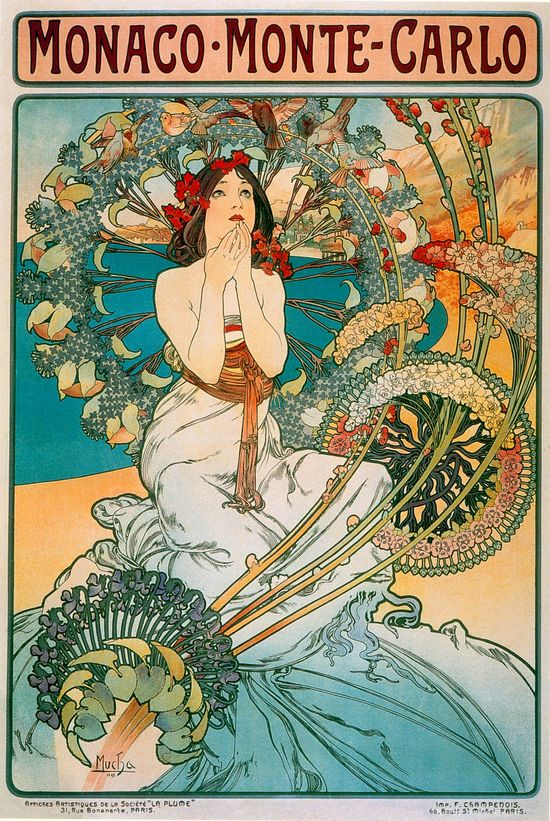 Poster para Monaco - Monte Carlo (1897)